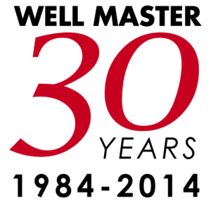 Well Master 30th Anniversary logo