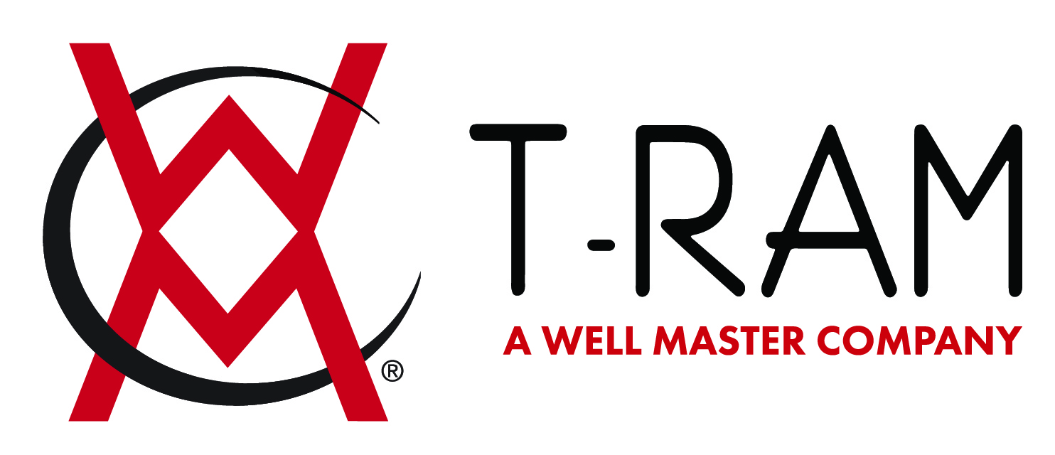 T-Ram and Well Master combined logo